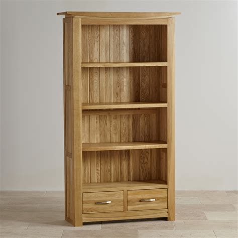 tokyo solid oak bookcase living room furniture