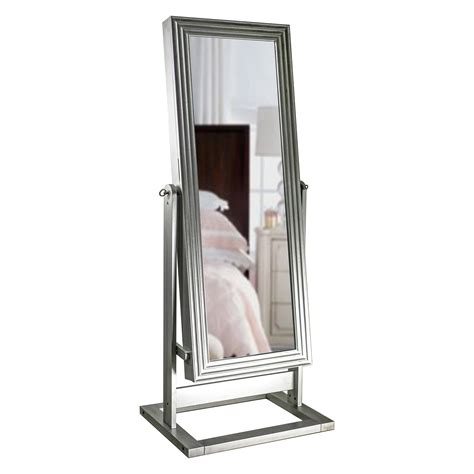 hayneedle jewelry armoire cheval mirror hives honey avery cheval mirror jewelry armoire silver