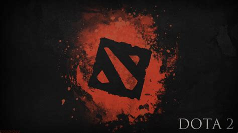 dota 2 logo wallpaper for android download dota 2 black logo art 4k android wallpaper 4k
