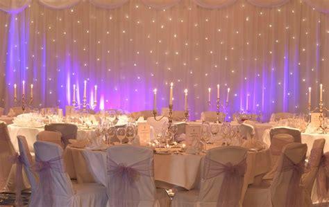 wedding backdrop manufacturers uk white starcloth starlight wedding backdrop hire humphries av