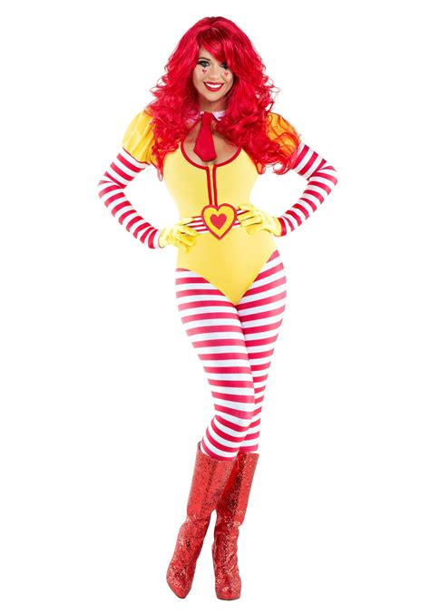 hamburger clown costume