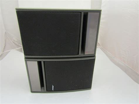 bose speaker set model 141 stereo bookshelf speakers