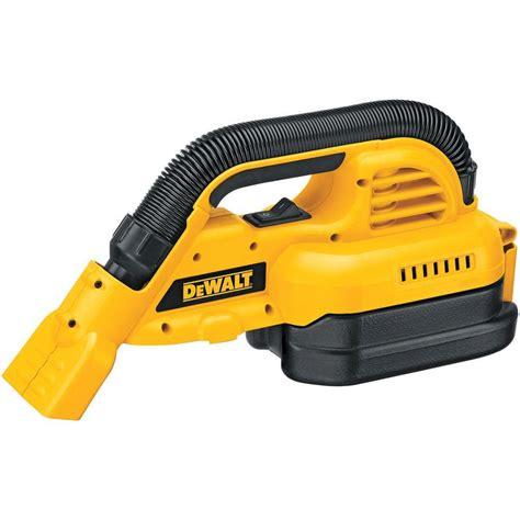 vacuum 18 by power pool shop dewalt 1 2 gal cordless 18 volt portable vacuum