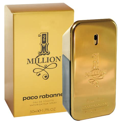 Paco Rabanne One 1 Million 50ml Parfum Pria Original Reject Prancis one million eau de toilette masculino 50ml