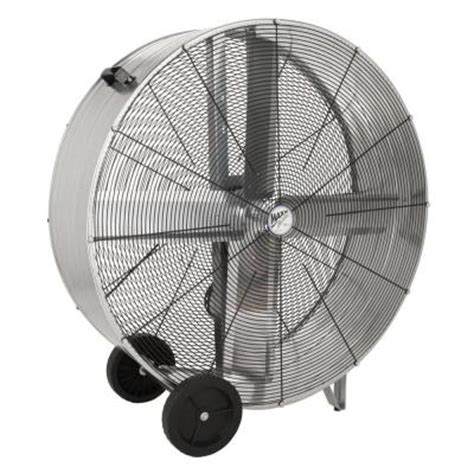 home depot barrel fan ventamatic 42 in 2 speed belt drive barrel or drum fan