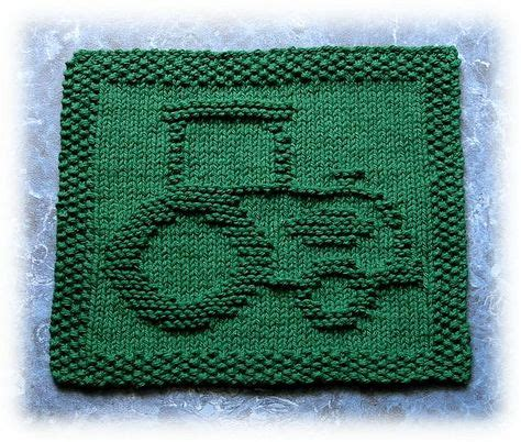 free tractor knitting pattern knitted wash kitchen cloths on 230 pins
