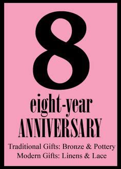 Wedding Anniversary Materials by 1000 Ideas About 8th Wedding Anniversary On
