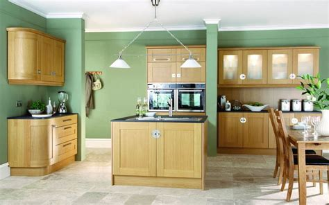 Green Kitchen With Oak Cabinets 18 best images about kitchen on oak cabinets