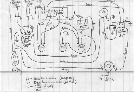bartolini bass wiring diagrams efcaviation
