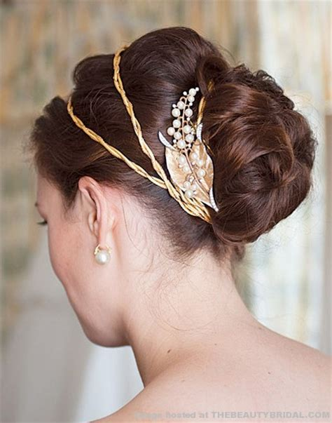 hairstyles with haedband accessories video up do s on pinterest updo french twists and wedding hairs
