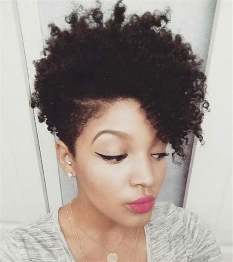 Long Front Short Back For Natural African Hair | 75 most inspiring natural hairstyles for short hair in 2017