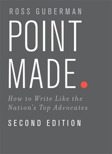 to to the point books book review point made 2nd edition associate s mind