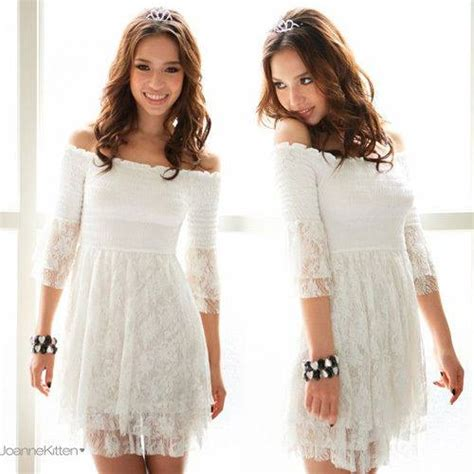 Cowgirl Gypsy Top White Lace 3 4 Bell Sleeve Smocked Top Floral Bell Sleeve Babydoll Dress