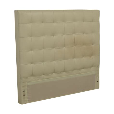 90 west elm west elm white leather tufted