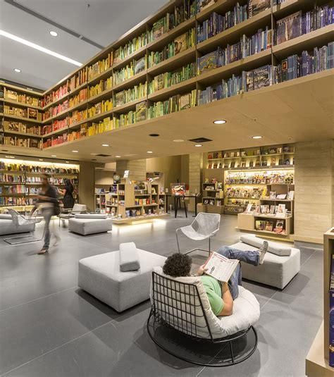 librerie taranto saraiva bookstore studio arthur casas archdaily