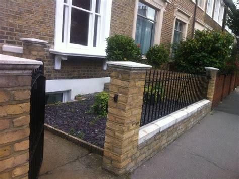 Croydon Front Garden Wall Bricklaying Job In Croydon Front Garden Walls