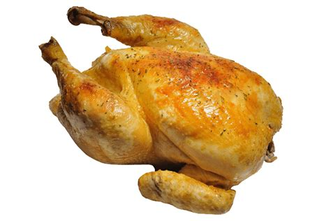 roasted whole chicken roasted chicken whole transparent png stickpng