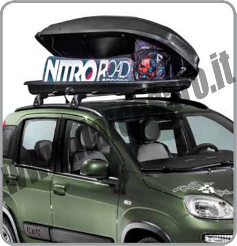 noleggio box portatutto auto kit nitro panda