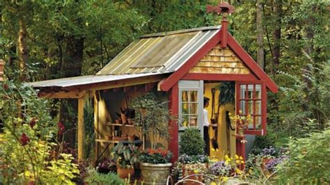 Rustic Garden Shed Plans by Shed With Style Southern Living House Plans