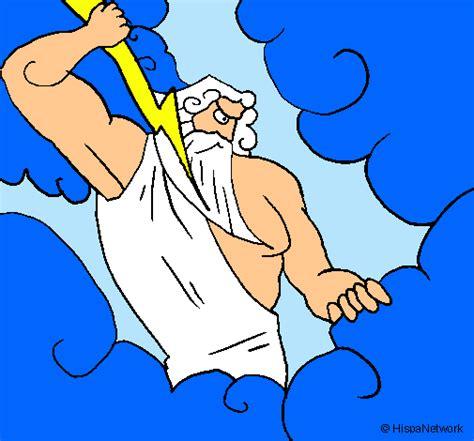 imagenes de el dios zeus para dibujar dibujo de dios zeus pintado por zeus en dibujos net el d 237 a