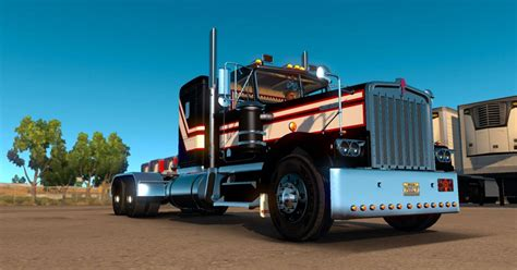 kenworth w900a kenworth w900a sound pack ats euro truck simulator 2 mods