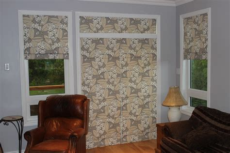 shade for patio door custom interiors shades in a patio door