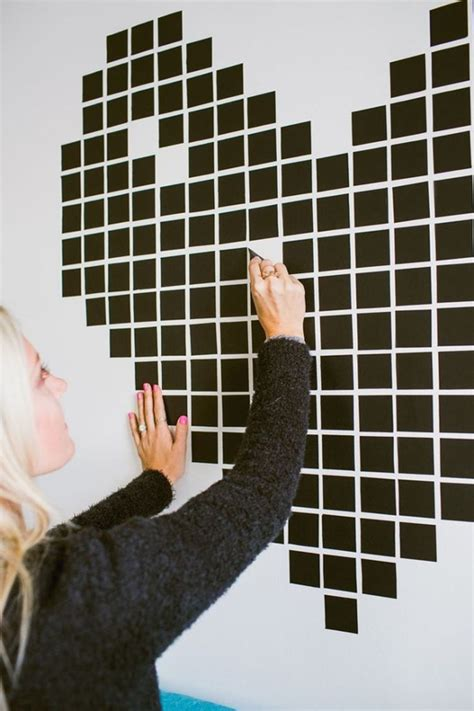wall pattern ideas with tape 20 low cost diy washi tape designs decorazilla design blog