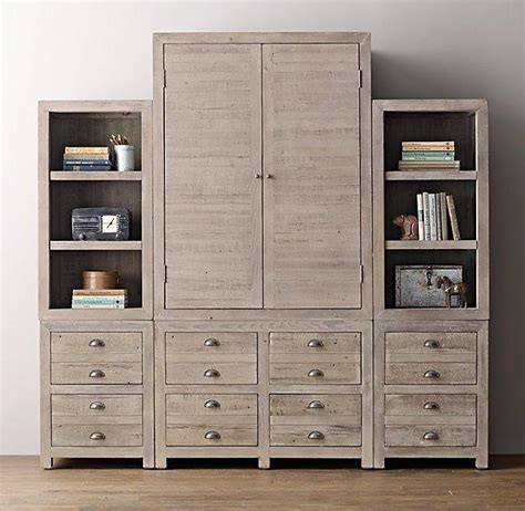 shallow armoire storage aged grey wall set armoire bookcase tops shallow