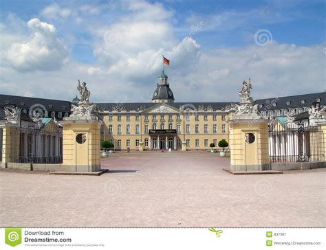 designer karlsruhe karlsruhe castle royalty free stock photography image