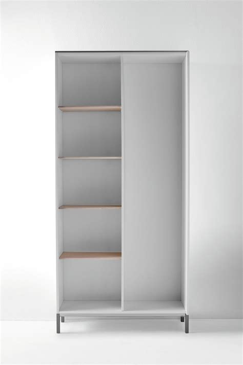 slim armoire slim wooden wardrobe by birex