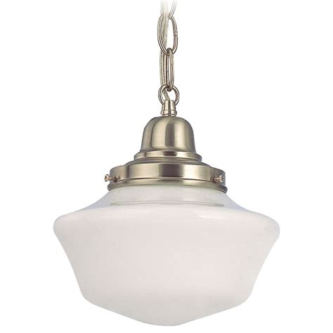 schoolhouse mini pendant light 8 inch period lighting schoolhouse mini pendant light in