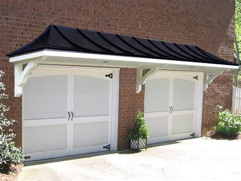 Garage Door Awning by Hip Roofover Garage Doors Ideas For The Home