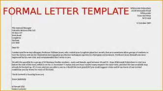 12 formal letter template receipts template