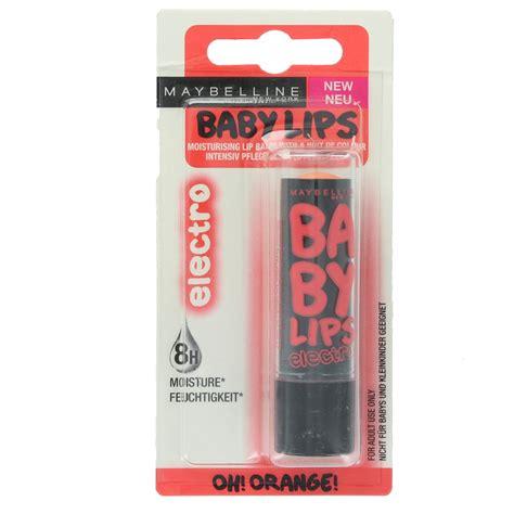 Maybelline Baby Electro maybelline baby electro lip balm ebay