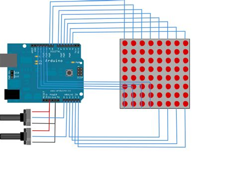 arduino tutorial array led matrix