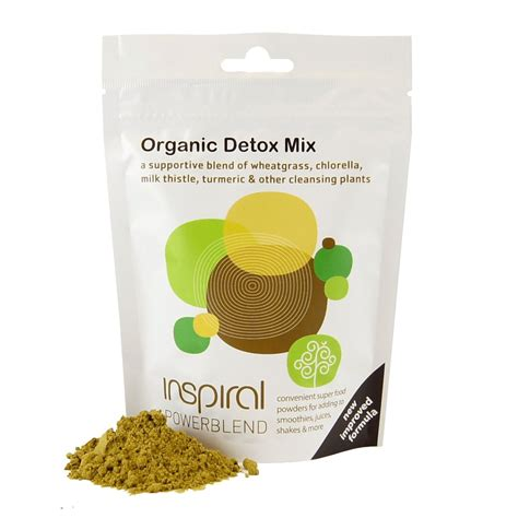 Detox Mix Powder by Inspiral Organic Detox Mix By Inspiral Greenlife