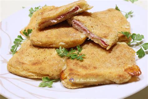 pane in carrozza al forno mozzarella in carrozza al forno la magica cucina di luisa