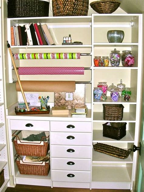 Turn a closet or cupboard into a workstation
