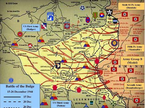 map battle of the bulge battle of the bulge december