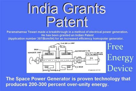 india s free energy device patent the spg