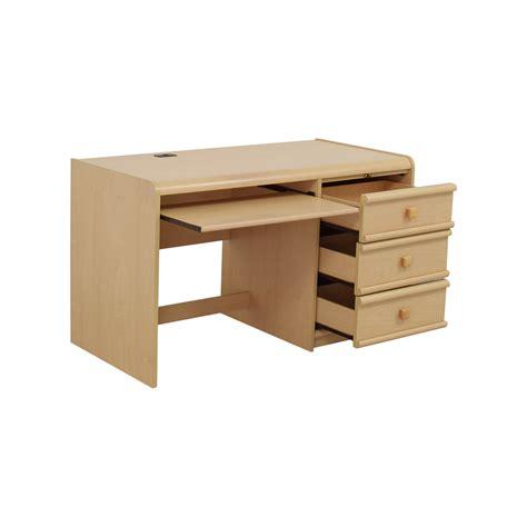 desk keyboard shelf 90 palliser palliser three drawer desk with