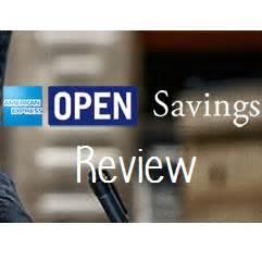 american express open business card american express open savings review earn rewards