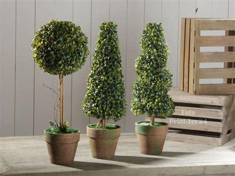 pflanzen deko k 252 nstliche pflanze pflanzen topfpflanze 3er set deko