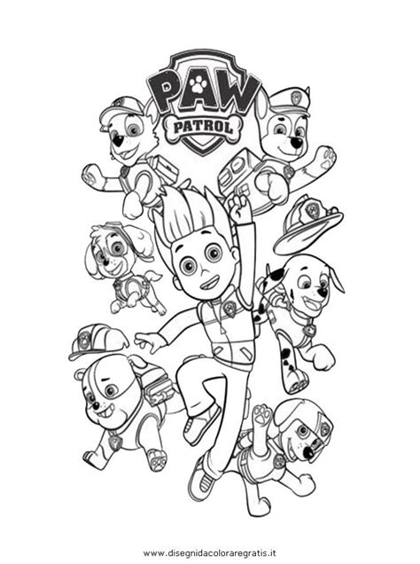 paw patrol group coloring pages 17 best ideas about paw patrol coloring on pinterest