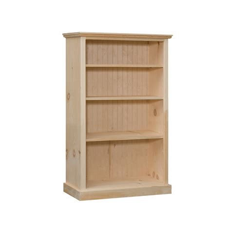 bookcase with 3 adjustable shelves 32 quot wide 48 quot high
