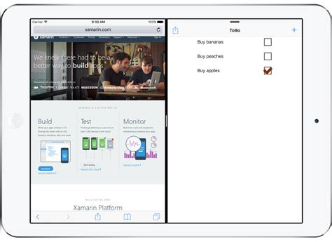 layout app ipad layout for tablet and desktop apps xamarin
