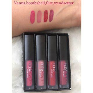 Huda Lipstick New Colour huda mini liquid matte lipstick four new lovely shades buy huda mini liquid matte