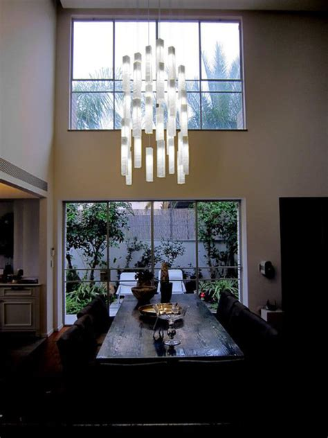 contemporary pendant lighting for dining room tanzania chandelier contemporary dining room new york by shakuff