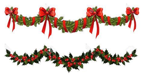 unique christmas garland stock vector wreath design