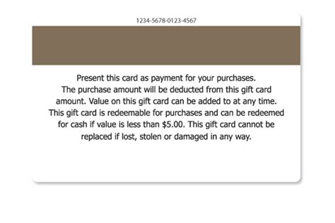 condition cards template gift card terms and conditions sles